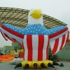 giant inflatable vulture cartoon for advertising
