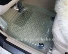 PVC TRANSPARENT CAR FLOOR MAT,CARPET ,5 PCS SET
