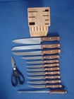 RW handle 14pcs knife set