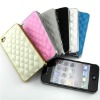 2012 hot selling. Leather wallet case cover for iphone 4, 4s.