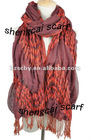 Fashion warm polyester wholesale scarves