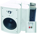 5 inch 2-way speaker system white or black cabinet WSB-505T6