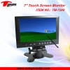 TM-7200 7 inch touchscreen monitor for car pc