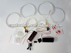 energy saving 2sets LED car light CCFL angle eyes kit for BMW E46 light bulb