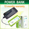 2012 latest different colors Hot Power Bank & Portable Power Charger