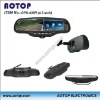 4.3 Inch mirror gps navigation system with bluetooth