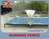 YC New type galvanized pipe nursery fence