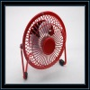 Assorted color mini usb fan with finger guard