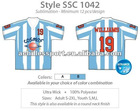 Custom Men's Argentina sublimation soccer shirt