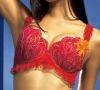 Fashion women underwear bra with lace