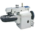 Edge folding machine for vamps&leathers