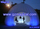 inflatable dome tent with LED guangzhou