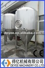 Cooling water jacket Conical Fermenter Tank, Double jacketed Beer Fermentation Tank, brewing