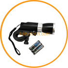 3 Watt LED Front Bicycle Flashlight Torch With Holder black
