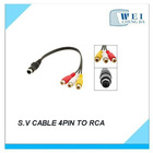 S.V CABLE 9PIN TO RCA