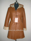 sheep skin double face coat