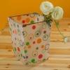 color ful PP trash/dustbin/rubbish box/box