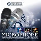 Bandridge Dynamic Karaoke Microphone for Home Karaoke System aduio equipment.