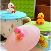 2013 new arrival animal shaped silicone cup cover for gifts