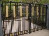 The Aluminum alloy gate