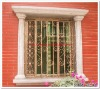 2012 Top-selling modern steel window grill design
