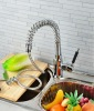 high quality pull out spray kitchen sink tap with spring