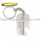 2012 printing logo bottle opener keychain