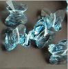 Blue 8mm butterfly crystal pendants