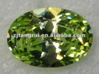 Dazzling Synthetic Zircon Stone/Ellipse Shape/CZ/Gemstone/Fashion Decoration