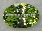 Dazzling Synthetic Zircon Stone/Ellipse Shape/CZ/Gemstone/Fashion Decoration