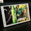 10inch indoor White Plastic housing LCD advertising display