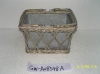 Wire basket for planter