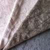 Stock fabric 100% POLYESTER SHORT HAIR VELVET BONDING FABRIC