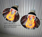infrared quartz tube for furnace use 1030