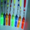 light plastic whistle/plastic bird whistle/led whistle