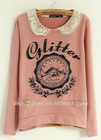 fashion korean women's hoody with print