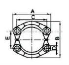 SAE SPLIT FLANGE CLAMPS 6000 PSI(FS),ISO 6162-SAE J518