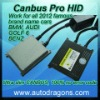 2012 new ultra CANBUS Pro HID kits compatible with BMW AUDI GOLF 6 BENZ