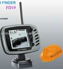 Wireless Dot Matrix Fish Finder HL-FD19