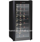 80L wine cooler fridge/ cooler box/mini fridge/refrigerator freezer