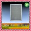 Cabinet filter use for ventilation system