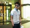 2012 Summer Men's lapel Slim polo shirt / Casual polo shirt =JD-MJT124