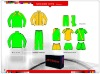 customized new design tracksuit, soccer kits, OEM design