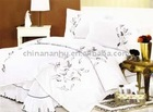100% cotton embroidery bed sets