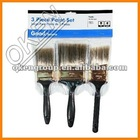 2012 New Plastic Handle Bristle Brush Set