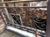 Balcony aluminium banister