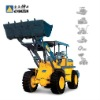 ZLD16 Wheel Loader, mini wheel loader, bucket capacity 0.8m3, loading capacity 1600kg