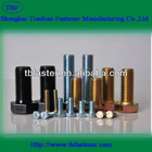 hardware product Hex Bolt with yellow zinc plated