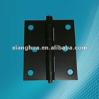 window hinge with black spray aluminum hinge