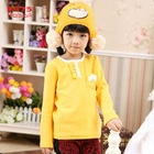 2012 Winter Design For Baby Girl Multicolored Readymade Garment Long Sleeve T Shirt